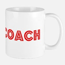 Retro Chess Coach (Red) Mug