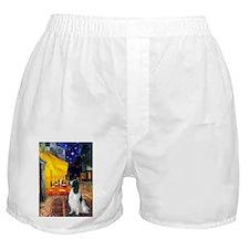Terrace Cafe English Springer Boxer Shorts