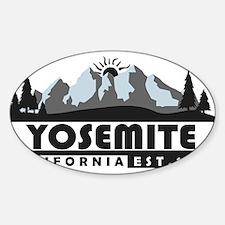 Yosemite - California Decal