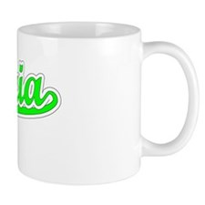 Retro Victoria (Green) Mug