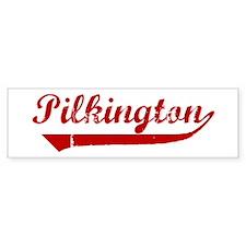 Pilkington (red vintage) Bumper Bumper Sticker