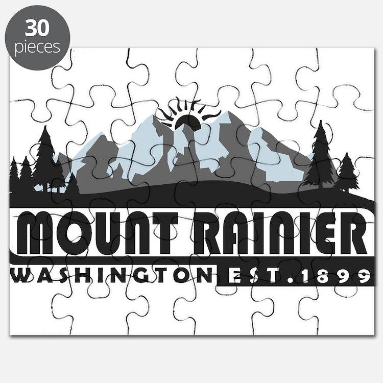 Mount Rainier - Washington Puzzle