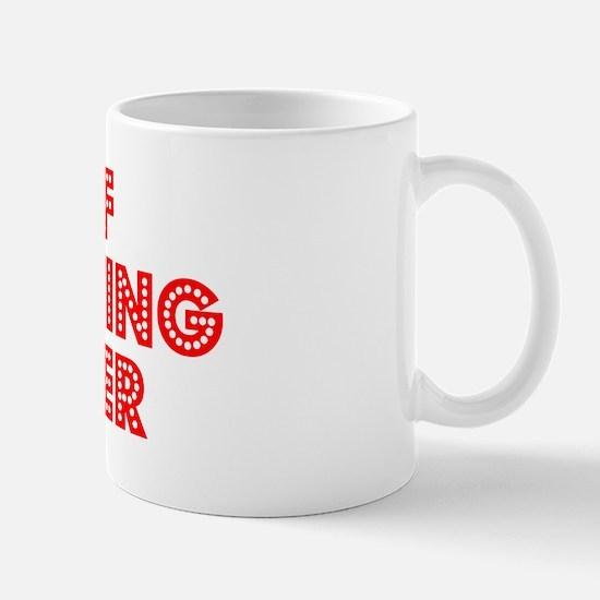 Retro Chief Opera.. (Red) Mug