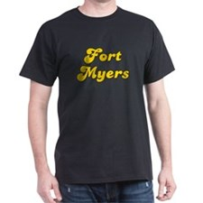 Retro Fort Myers (Gold) T-Shirt