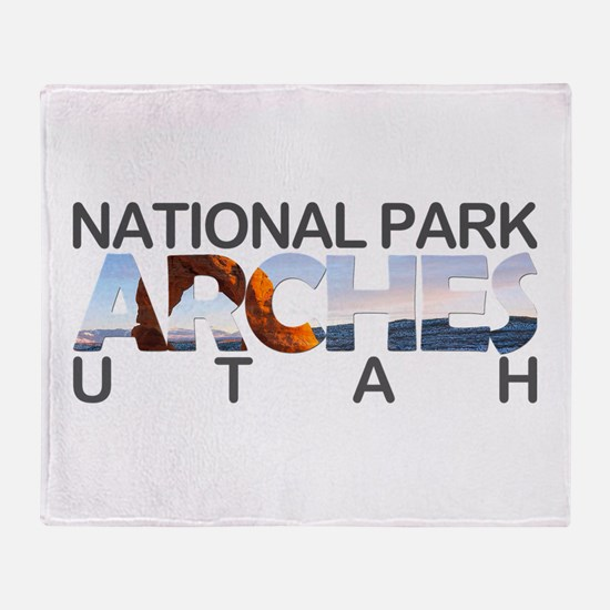 Arches - Utah Throw Blanket