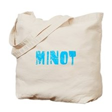 Minot Faded (Blue) Tote Bag