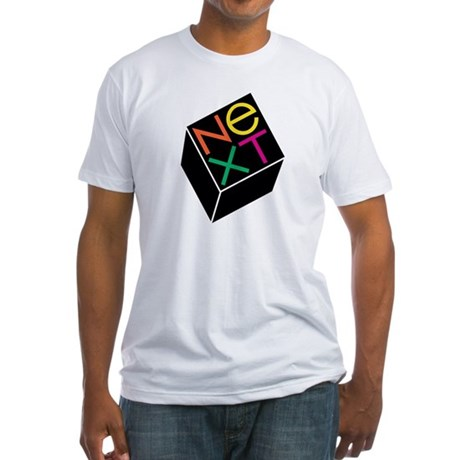 NeXT Computer Fitted T-Shirt with Jobs Quote