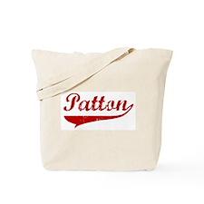 Patton (red vintage) Tote Bag