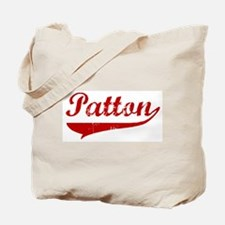 Patton (red vintage) Tote Bag
