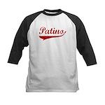 Patino (red vintage) Kids Baseball Jersey