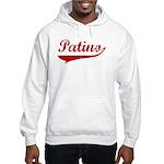 Patino (red vintage) Hooded Sweatshirt