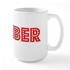Retro Climber (Red) Mug