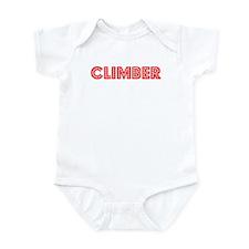 Retro Climber (Red) Infant Bodysuit