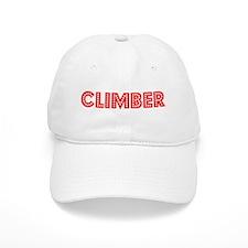 Retro Climber (Red) Baseball Cap