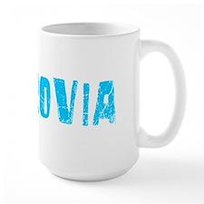Monrovia Faded (Blue) Mug