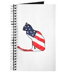 Patriotic Cat Journal