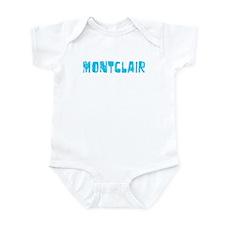 Montclair Faded (Blue) Infant Bodysuit