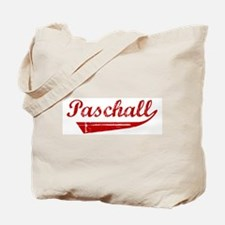 Paschall (red vintage) Tote Bag