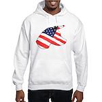 Patriotic Dog Hooded Sweatshirt