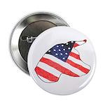 Patriotic Dog Button