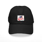 Patriotic Dog Black Cap