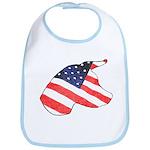 Patriotic Dog Bib