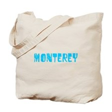 Monterey Faded (Blue) Tote Bag