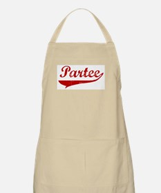 Partee (red vintage) BBQ Apron