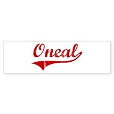 Oneal (red vintage) Bumper Bumper Sticker