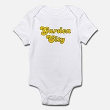Retro Garden City (Gold) Infant Bodysuit