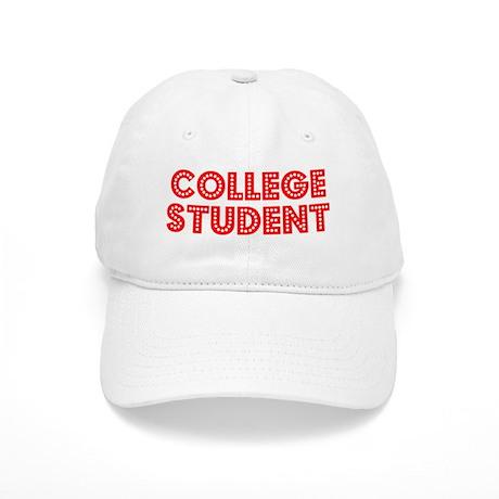 Retro College Stu.. (Red) Cap