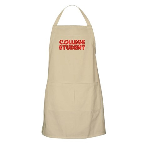 Retro College Stu.. (Red) BBQ Apron