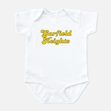 Retro Garfield Hei.. (Gold) Infant Bodysuit