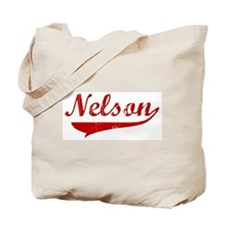 Nelson (red vintage) Tote Bag