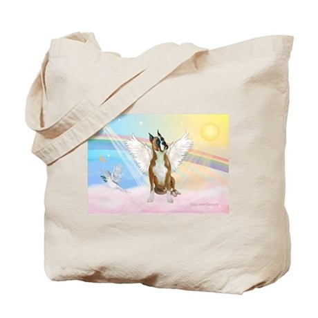 Angel / Boxer Tote Bag