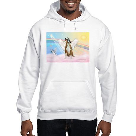 Angel / Boxer Hooded Sweatshirt