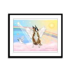 Angel / Boxer Framed Panel Print