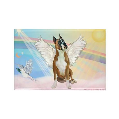 Angel / Boxer Rectangle Magnet (10 pack)
