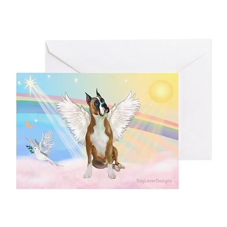 Angel / Boxer Greeting Card