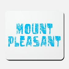 Mount Pleasant Faded (Blue) Mousepad