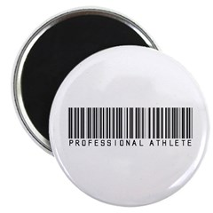 Professional Athlete Barcode Magnet