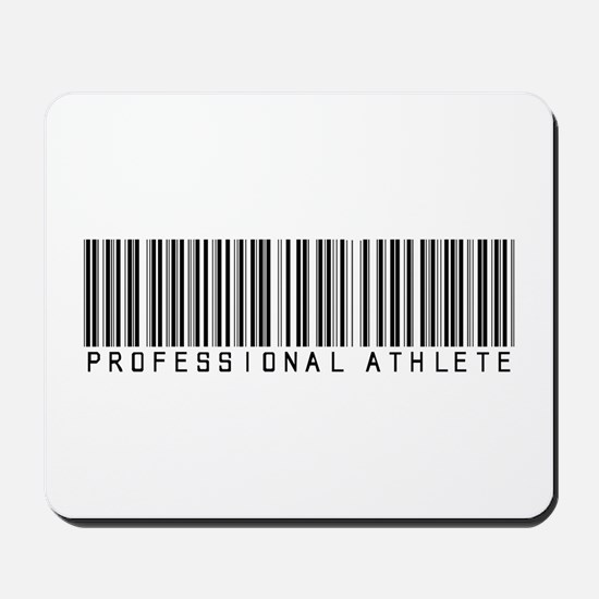Professional Athlete Barcode Mousepad