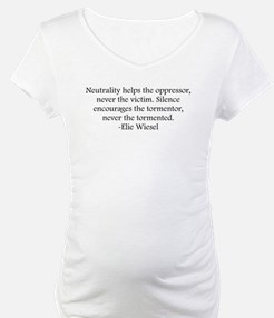 Wiesel Quote Shirt