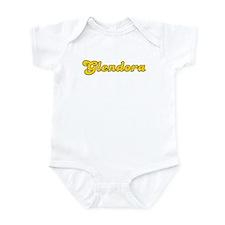 Retro Glendora (Gold) Infant Bodysuit