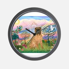 Cloud Angel 2/Shar Pei (3) Wall Clock