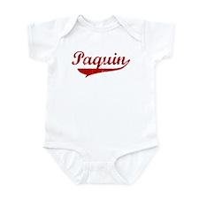 Paquin (red vintage) Infant Bodysuit