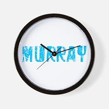 Murray Faded (Blue) Wall Clock