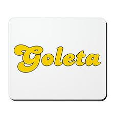 Retro Goleta (Gold) Mousepad