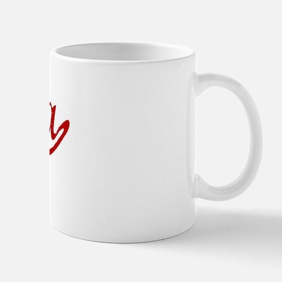 Ohara (red vintage) Mug