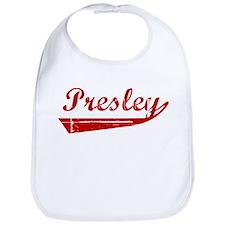Presley (red vintage) Bib